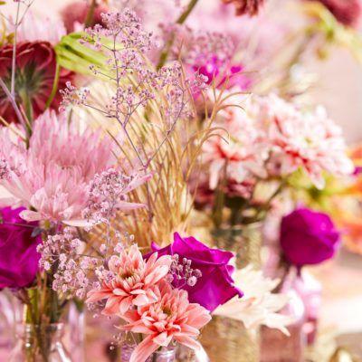 gekleurde bloemen